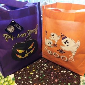 Handbags - Set of 3 cloth Halloween bags
